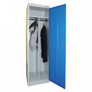 Шкаф металлический для одежды ШРЭК-21-530, 2 отделения (в1850*ш530*г500мм), разборный