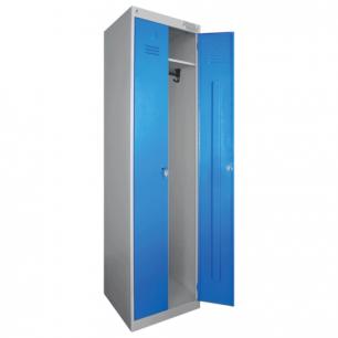 Шкаф металлический для одежды ШРЭК-22-530, двухсекционный (в1850*ш530*г500мм), разборный
