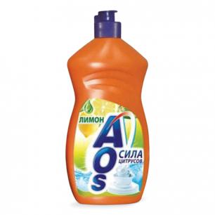 """Средство для мытья посуды AOS 500мл, """"Лимон"""", ш/к 12305"""