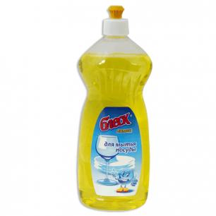 """Средство для мытья посуды БЛЕСК 750мл, """"Лимон"""", ш/к 74714"""