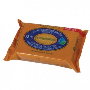 Мыло хозяйственное 72%, 150г (ЭФКО), в упаковке, Х311/80398, ш/к 30018/10335