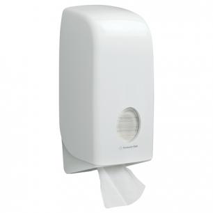 Диспенсер для туалетной бумаги листовой KIMBERLY-CLARK Aquarius, белый (бумага 126128), 6946