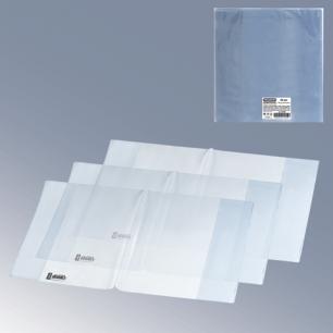 Обложка ПВХ д/учебника ПИФАГОР размер универсальный, прозр, плотн, 120мкм, 233*455мм, 224838