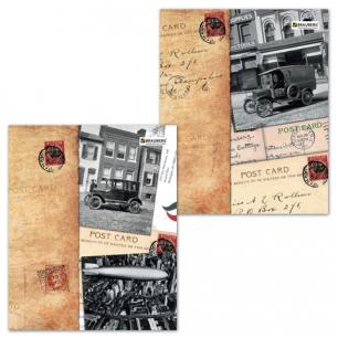 Тетрадь 96л. BRAUBERG кл., обл. мел. карт., Страны (4 вида), 401292