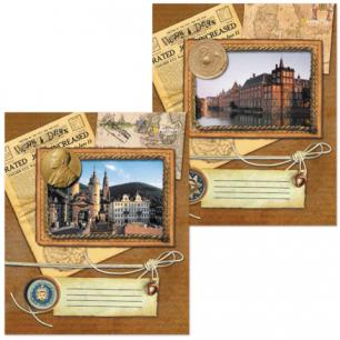 Тетрадь 96л. BRAUBERG кл., обл. мел. карт., Notebook (Тетрадь, 2 вида), 401290