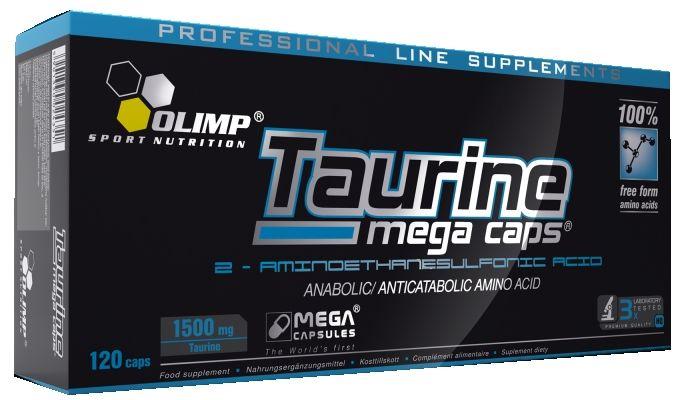 Taurine Mega Caps 1500mg (120 капс.)