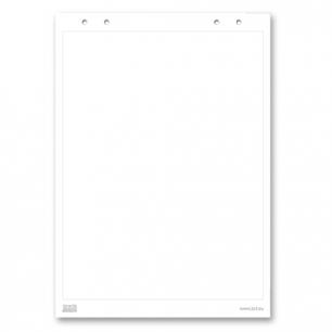 """Блокнот для флипчарта """"2х3"""" (""""Дважды три"""", Польша)  20 листов, чистый, 66*99см, B04"""