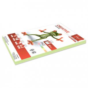 Бумага CREATIVE color (Креатив)  А4,  80г/м, 100 л. пастель зеленая, БПpr-100з, ш/к 41874