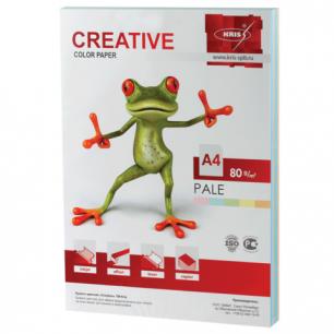 Бумага CREATIVE color (Креатив)  А4, 80г/м, 250 л. (5 цв.х50л.)  цветная пастель, БПpr-250r, ш/к 40884