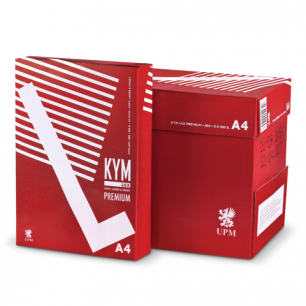 """Бумага офисная А4, класс """"A"""", KYM LUX PRЕMIUM, 80г/м, 500л., Финляндия, белизна 98%, 170% (CIE)"""