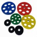 Диск олимпийский обрезиненный PX-Sport D 51, 25 кг WP013-25