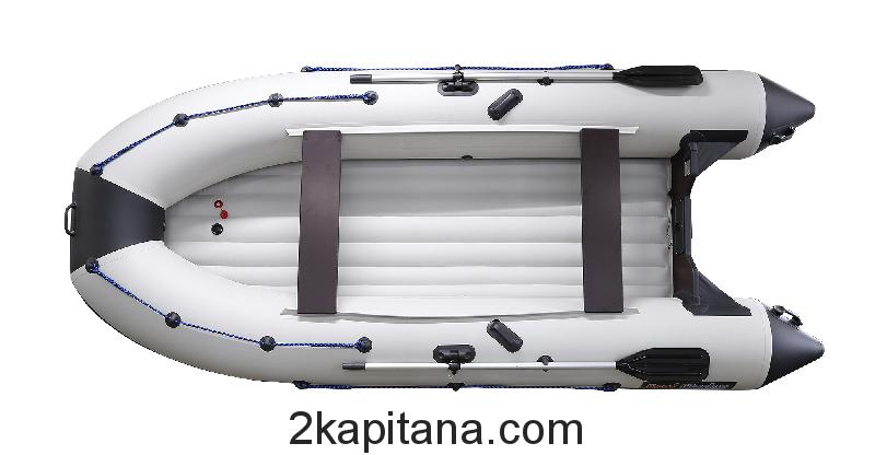 Надувная ПВХ лодка Профмарин (Profmarine) PM 370 Air, моторно-гребная, килевая