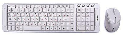 Клавиатура+мышь Беспроводной набор Katana KMROK-0318U (БЕЛЫЙ)