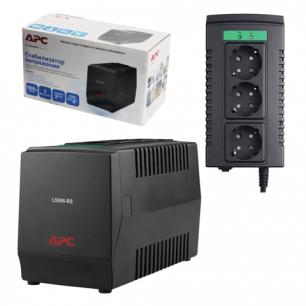 Стабилизатор напряжения APC Line-R LS1000-RS, 1000ВА/500Вт, 3 розетки, вх.напр. 180-280В
