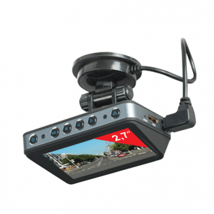 Видеорегистратор автомоб. SONNEN DVR-560, FullHD, 120°, экран 2,7'', GPS, G-сенсор, microSD, HDMI, 352860