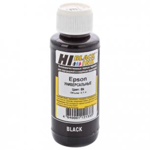 Чернила EPSON универсальные, черный 0,1л HI-BLACK СОВМЕСТИМЫЕ