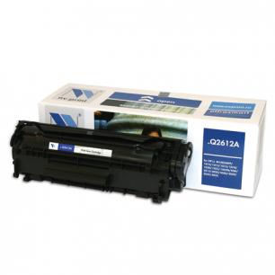 Картридж лазерный HP (Q2612A)  LaserJet 1018/3052/М1005, рес. 2000 стр. NV PRINT СОВМЕСТИМЫЙ