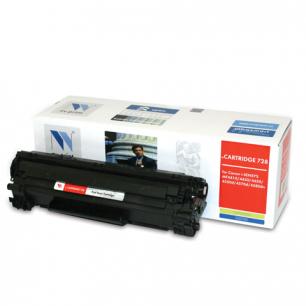 Картридж лазерный CANON (728)  MF4410/4430/4450/4550dn/4580dn, рес. 2100 стр. NV PRINT СОВМЕСТИМЫЙ