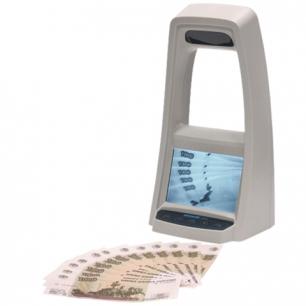 """Детектор банкнот DORS-1100 ЖК-монитор 12,7см, проверка в и/к-свете, контроль """"спецэлемента М"""""""