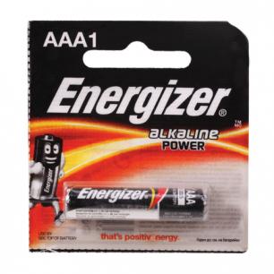 Батарейка ENERGIZER Power AAA LR3, 1шт., АЛКАЛИН, в блистере, 1,5В (работает до 10 раз дольше) E92/ААА