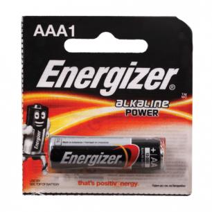 Батарейка ENERGIZER Power AA LR6, 1шт., АЛКАЛИН, в блистере, 1,5В, (работает до 10 раз дольше), E91/АА