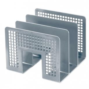 Лоток-сортер для бумаг ERICH KRAUSE 3-секционный, cерый, 10480