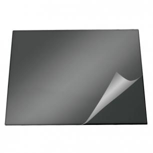 Коврик-подкладка настольный для письма DURABLE (Германия)  c прозр. листом, 52х65см, черный, 7203-01