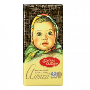 "Шоколад КРАСНЫЙ ОКТЯБРЬ ""Аленка"", молочный, 100г, ш/к 75409"