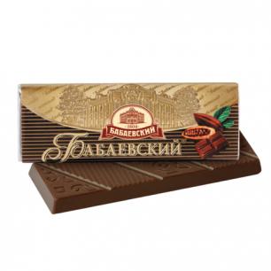 Шоколад БАБАЕВСКИЙ горький, 20г, ш/к 43036