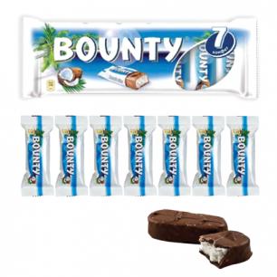 Шоколадные батончики BOUNTY мультипак, 7шт по 27,5г (192,5г), 2290