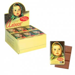 "Шоколад КРАСНЫЙ ОКТЯБРЬ ""Аленка"", 15г, бум. упаковка, КО07747"