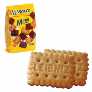 """Печенье BAHLSEN Leibniz (БАЛЬЗЕН Лейбниц)  """"Minis Choko"""", сливочное с шоколадом, 100г, ГЕРМАНИЯ, ш/к73114"""