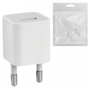 Зарядное устройство сетевое (220В)  DEFENDER EPA-01, 1 порт USB, вых.ток. 1А, бел., пакет 83523