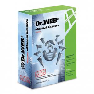 "Антивирус DR.WEB ""Малый бизнес"", 5 ПК 1год, бокс,  BBZ-C-12M-5-A3"