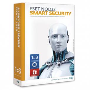 Антивирус ESET NOD32 Smart Security+Bonus, 3ПК 1год или продлен. на 20месяц., NOD32-ESS-1220 (BOX) -1-1