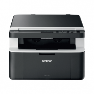 МФУ лазерное BROTHER DCP-1512R (принтер, копир, сканер)  А4 20с/мин 9000 стр/мес (без кабеля USB)