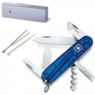 """Подарочный нож VICTORINOX """"Spartan"""", 91мм, складной, синий, 12 функций, 1.3603.2"""