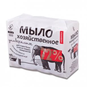 Мыло хозяйственное 72%, КОМПЛЕКТ 4шт.х100г (Невская Косметика), 11142