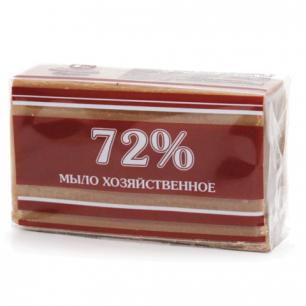 Мыло хозяйственное 72%, 200г (Меридиан), в упаковке, ш/к 90084