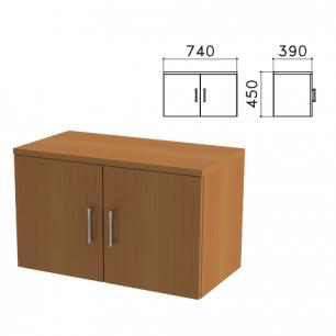 """Шкаф-антресоль """"Монолит"""" (ш740*г390*в450 мм), цвет орех, АМ01.3"""