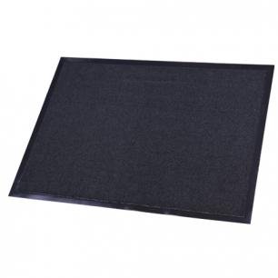 Коврик входной ворсовый влаго-грязезащитный FLOORTEX 80*120см, ворс 4,5мм, основа 2,5мм, т-сер, 600974
