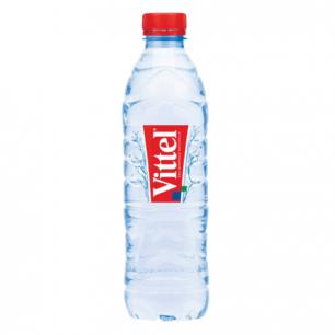 Вода негазированная минеральная VITTEL (Виттель), 0,5л, пластиковая бутылка, ФРАНЦИЯ, ш/к 38631