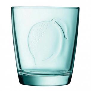 """Стакан для сока LUMINARC """"FRUITY ENERGY"""" ЛИМОН, 250 мл, низкий, стекло, L1177"""