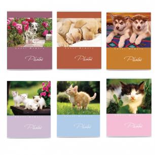 Фотоальбом BRAUBERG на 36 фото 10*15см, мягкая обложка, котята/щенки, ассорти, 390650
