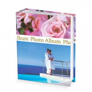 Фотоальбом BRAUBERG на 300+4 фото 10*15 см, твердая обложка, романтика, 390675