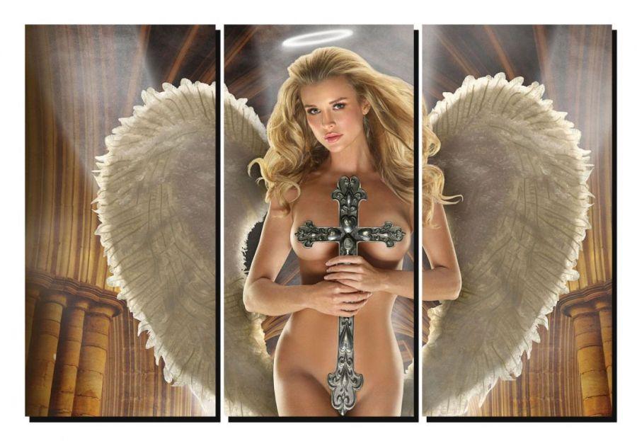 Модульная картина Девушка Ангел