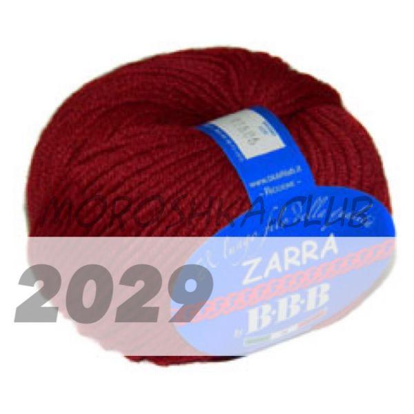 Тёмно-красный Zarra BBB (цвет 2029)