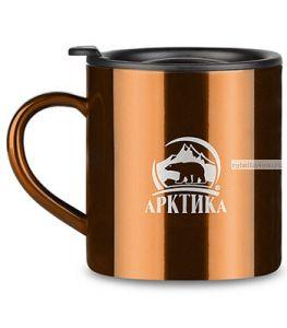 """Термокружка """"Арктика"""" 802-450 (450мл) кофейная"""
