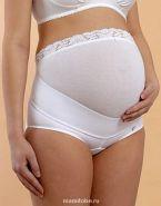 Бандаж-трусики для беременных с нижней застежкой (0141а), белый