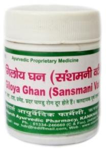 Giloya Ghan (ГилояГудучи гхан 40 гр) аюрведический имунномодулятор